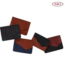 Exported PU leather men's simple style envelope clutch bag for pad/cellphone