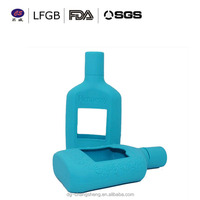 Colorful Silicone beer bottle cover/Silicone wine bottle cover/Silicone holder