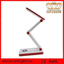 2015 High-tech Rechargeable Folding 24 led SMD Desk Lamp