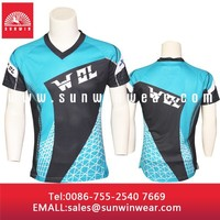 Full sublimation round neck T-shirt design with light weight and breathable fabric
