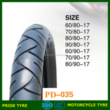 classic tubeless motorcycle tire 80/90-17