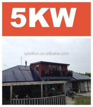 Powerful off grid home solar power system 5KW