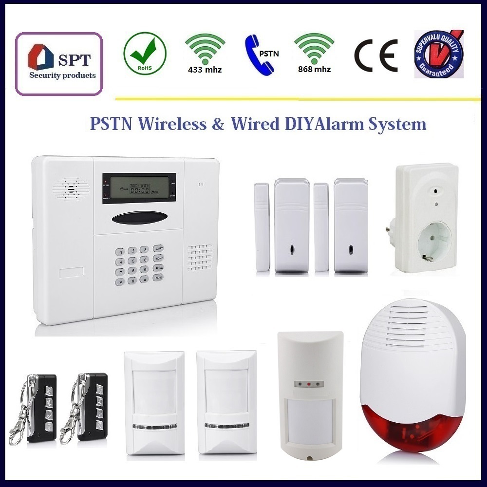 Cp 11a wireless self monitoring security alarm system for Self security system