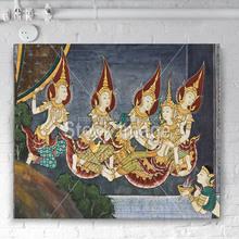 thai wall art
