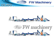 plastic recycling machine agriculture film washing plant