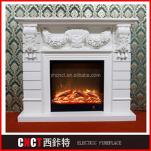 classical wall mounted russia fireplace