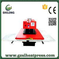 large hydraulic pneumatic format skateboard sublimation heat press