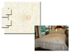 chenille bedcover set and aubusson bedspread 2012