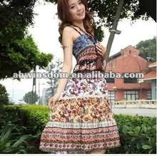 2012 fashion Bohemian ethnic trend shitsuke women's dress