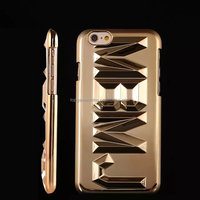 Golden electroplate M.L.G.B Letters phone case for iphone 6 case