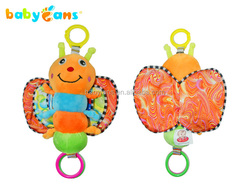 Babyfans good quality soft plush toy for new born baby music toy from china
