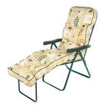 2015 new yellow plaid lounger chair cushion,leaf soft outdoor and indoor exquiteness sun lounger,art elegant cushion