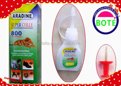 2015 HOT sale plastic bubble glue with 3g plastic bottle packing, bond within 3 or 5 seconds