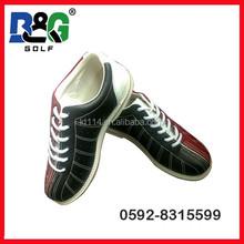 2015 nuovo stilein vera pelle scarpe da bowling per le vacanze