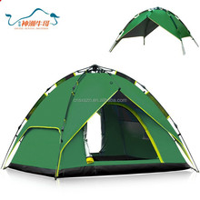 Hiking camping tent with good fabric for full family go out camping