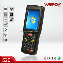 hot OEM Handheld IP65 2.5m drop WIFI Bluetooth laser Android 3G PDA Phone with Barcode Scanner
