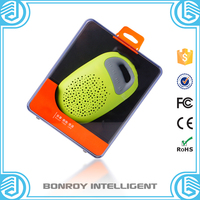 Protable innovative colorful stereo bluetooth speaker