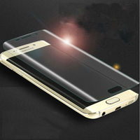 PET Clear HD Screen Protector Full Cover For Samsung S6 Edge Protectors For Mobile Phone