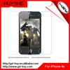 HUYSHE wholesale cell phone accessory 9h hardness 2.5d screen protector film for iphone 4