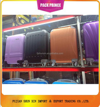 Luggage travel trolley fashion ABS PC material
