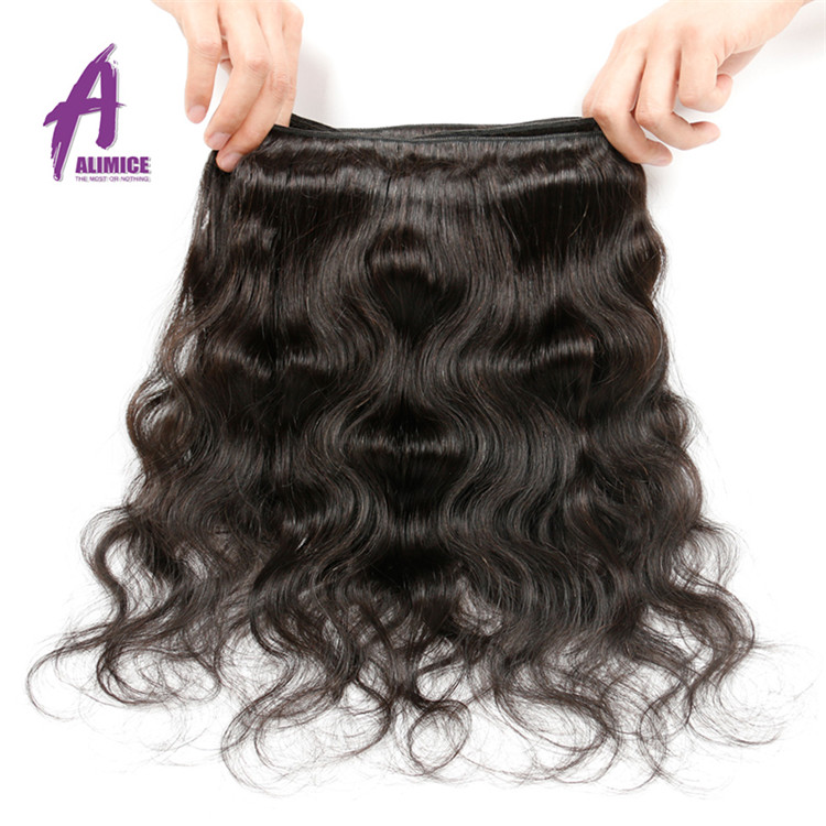 Body wave virgin human hair extension (71)
