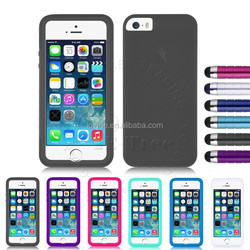 Silicone TPU Flip Touch Screen Case Cover For Apple iPhone 5S