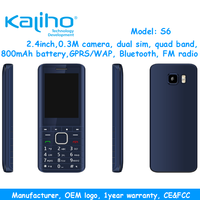 manufacturer of china 2.4inch quad band gsm dual sim mobile phone