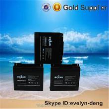 Hot sale deep cycle solar battery 12v 17ah battery accumulator