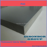 Plastic Manufacturer 100% Virgin Material Rigid 50mm PVC Sheet
