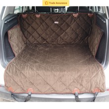 Quilted and padded seat cover for pets