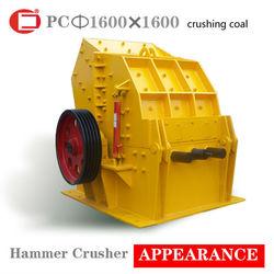 Impact-resistant coal hammer crusher production