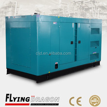Standby power 500kw soundproof electric diesel genset 625kva silent diesel generator for sale with cummins engine