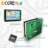 7 inch TFT LCD touch screen 800x600 with controller & software for HMI control