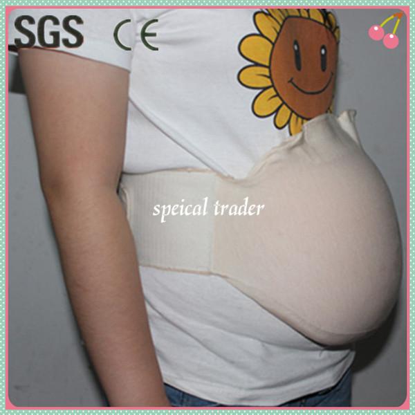 Горячий живот может беременная