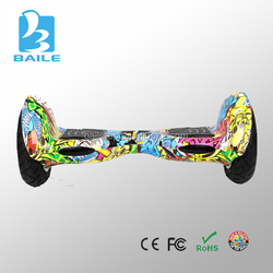Newest Factory SCOOTER china wholesale electric scooter 2 wheel smart self balance scooter 10 inch inflatable motorcycle