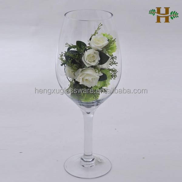 Martini glass vases centerpieces images Large wine glasses cheap