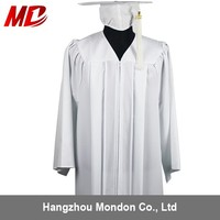 Wholesale White Academic Gowns And Caps