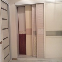 Latest wall to wall sliding wardrobe doors design