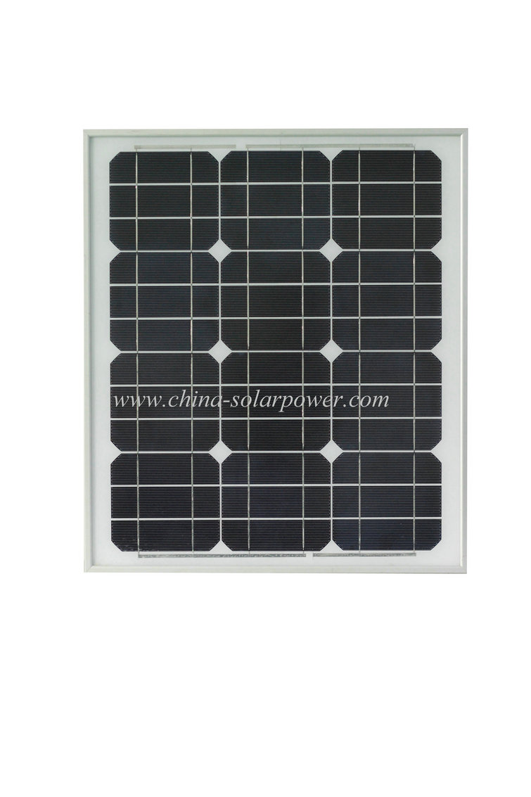 50W mono solar panel