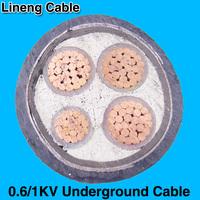 Hebei Lineng 0.6/1kv XLPE 4 Core x 300mm2 Copper Power Cable