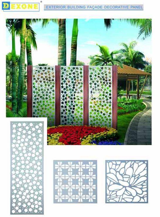 Merveilleux Aluminum Garden Fence Panels/Metal Wall Panel/partition Screen