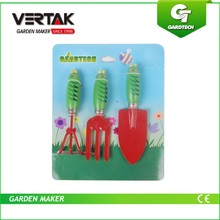 Have a good management in running our company these lay solid function for our development popular 3 pcs kid's garden tool set