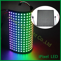 high power full color Pitch 10mm 16 * 16 ws2812b rgb led matrix
