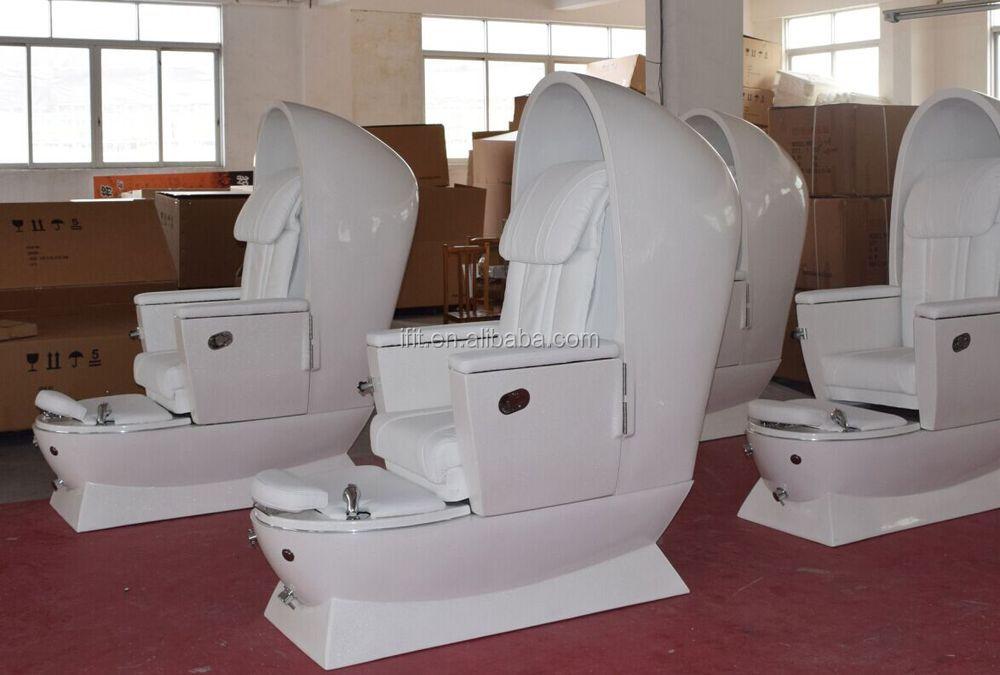 Pedicure Foot Spa Massage chairsalón de huevo muebles Sillón spa de