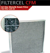 Flat Filter Cell G2 Woven Aluminium Wire