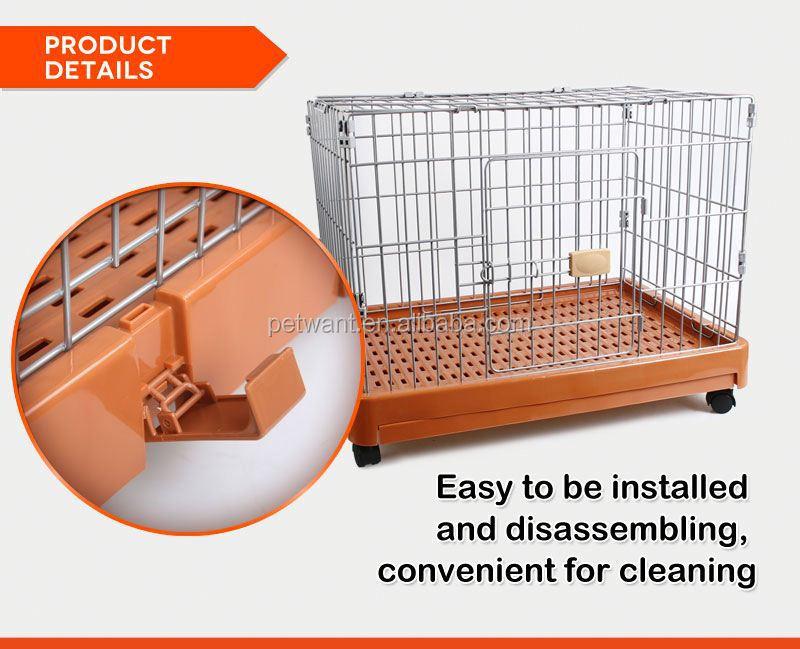 Powder Sprayed dog kennel cage stainless steel