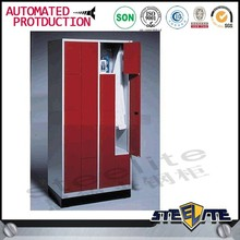 Fitness Center Locker Steel Metal Z Shape Gym Locker For School Changing Room Locker