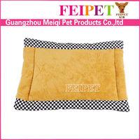 Soft fleece dog mat cheap pet mattress