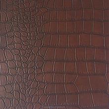 Crocodile pvc leather for hand bag CW361