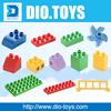 DIY Customize building blocks toys OEM toys blocks and bricks ABS palstic material